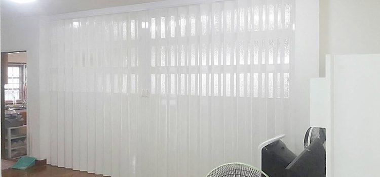 ผลงานติดฉากกั้นห้องญี่ปุ่น พร้อมช่องกระจกเต็มบาน ย่านแจ้งวัฒนะ